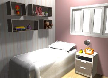 projeto quarto infantil design de interiores