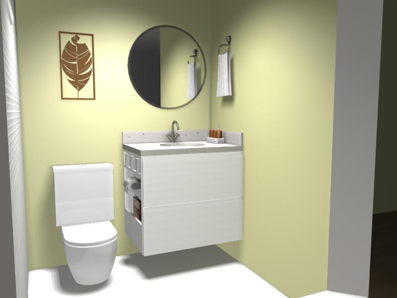 projeto móveis planejados banheiro