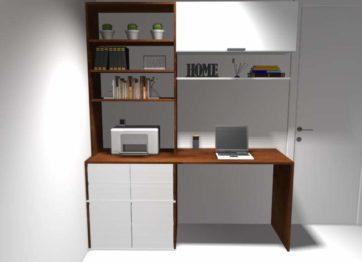projeto escritorio móveis planejados